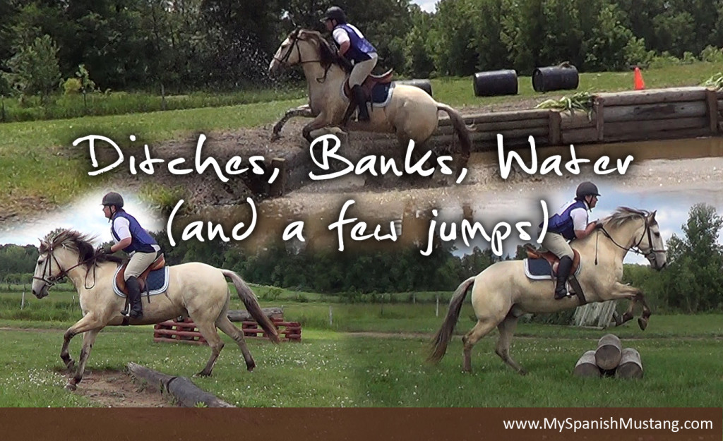 Ditches, banks, water and jumps
