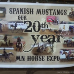 2016 MN Horse Expo featuring the Spanish Mustang
